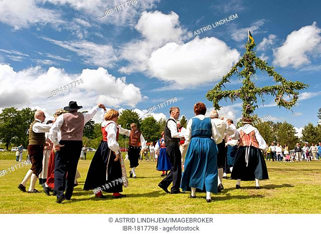 Folkdance, National Day of Sweden, Scandinavia, Europe