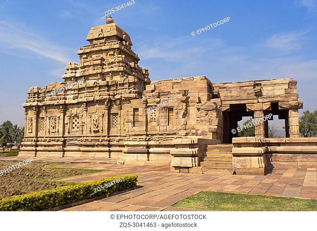 Sangameshwara Temple, Pattadakal, Karnataka, India