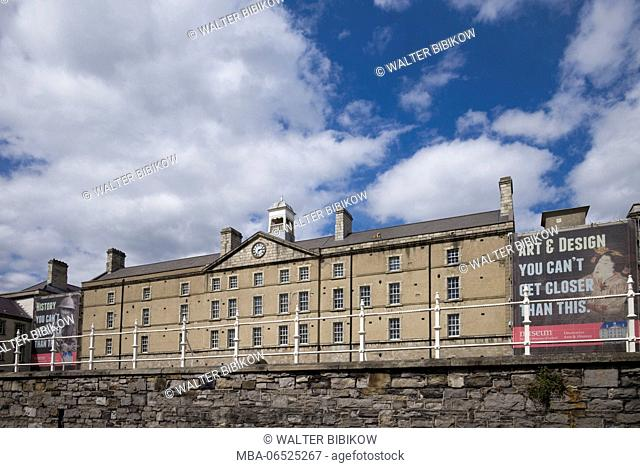 Ireland, Dublin, National Museum of Ireland, The Collins Barracks, exterior