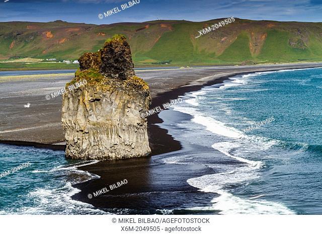 Dyrholaey beach. Iceland, Europe