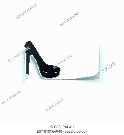 realistic design element: shoe