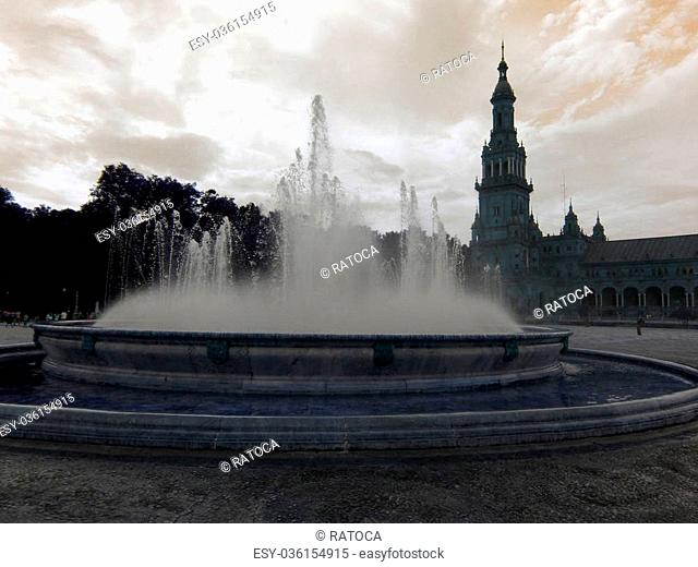 Nice photo of fountain square