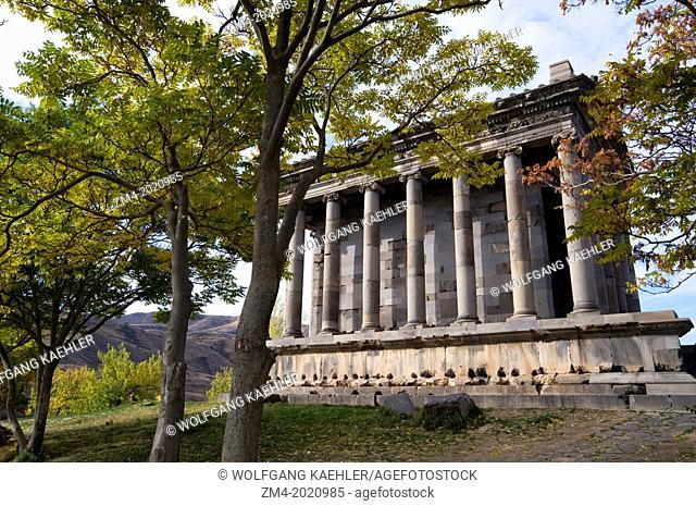 ARMENIA, NEAR YEREVAN, GARNI TEMPLE, BUILT IN THE FIRST CENTURY A.D