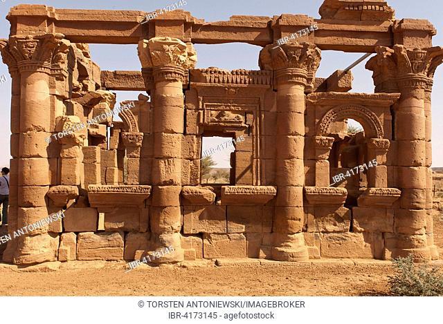 Hathor Temple or Roman Kiosk, Naga, Nubia, Nahr an-Nil, Sudan
