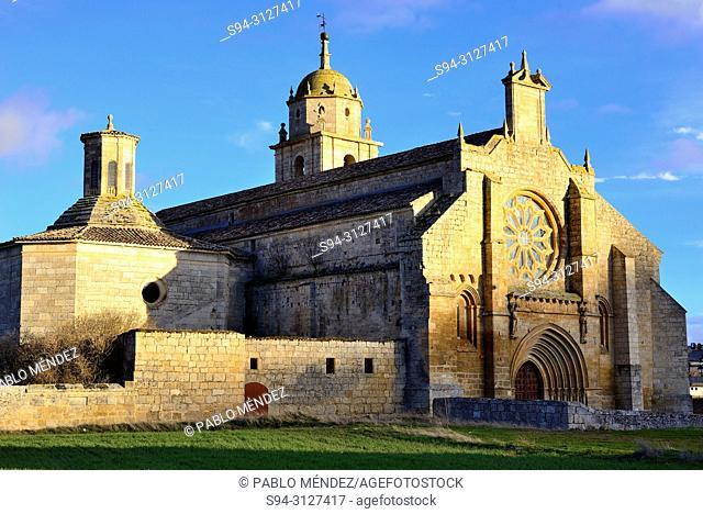 Church of Nuestra Señora del Manzano, Castrojeriz, Burgos, Spain