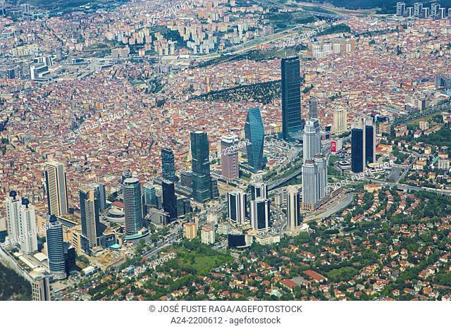 Turkey, Istambul City,Levent New City