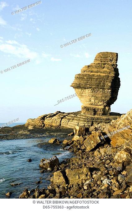 New Caledonia - Central Grande Terre Island - Bourail - Le Bonhomme rock