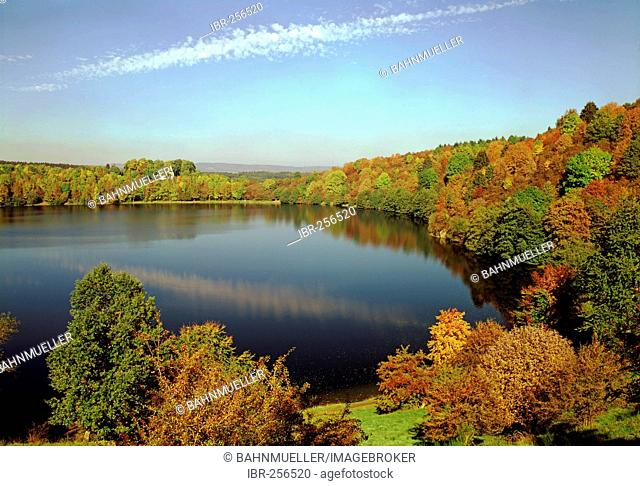 Weinfelder Mar Totenmar near Daun Eifel Rhineland-Palatinate Germany