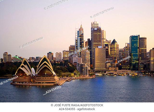 Sydney City. New South Wales. Australia. April 2006