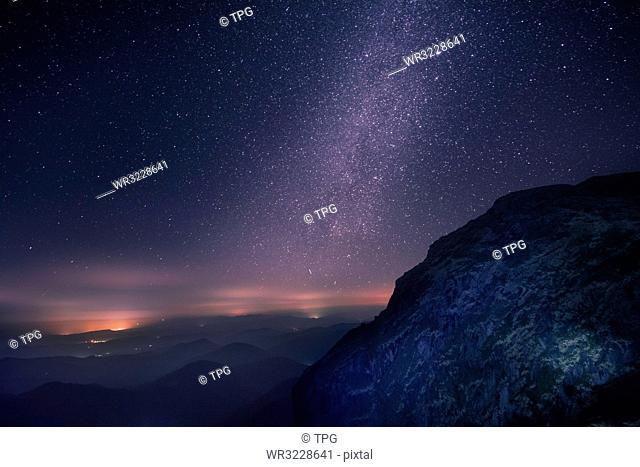 Qiyunshan Star Sky;China