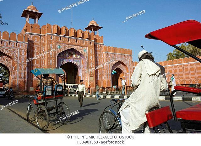 Sanganeri Gate, Jaipur, Rajasthan, India
