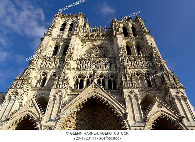Amiens Cathedral, Picardy, France