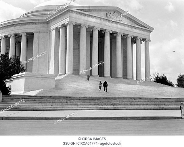 Jefferson Memorial dedication, Washington DC, USA, Ann Rosener for Office of War Information, April 12, 1943