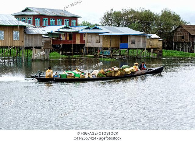 Mang Thawk. Inle Lake. Myanmar