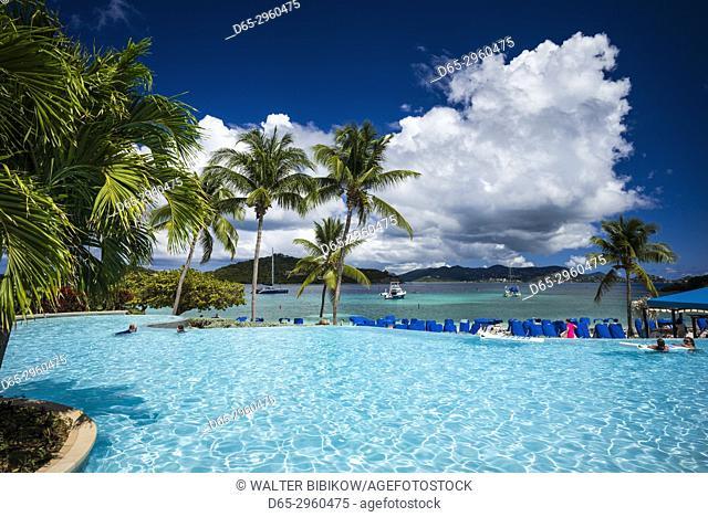 U. S. Virgin Islands, St. Thomas, Great Bay, The Ritz Carlton St. Thomas, swimming pool