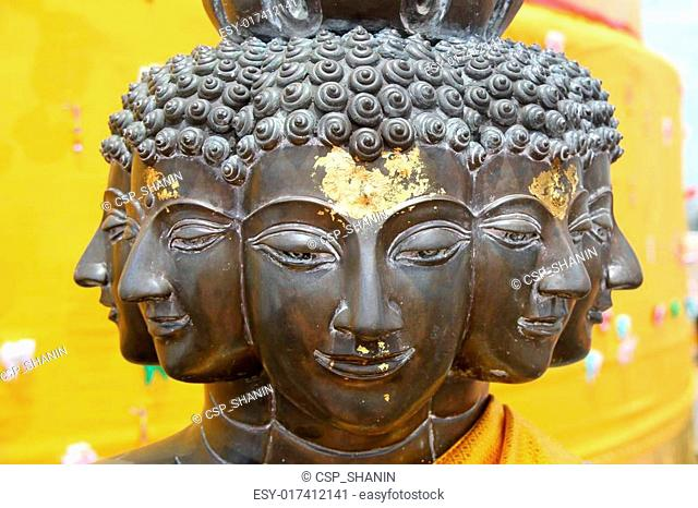 Faces of Buddha