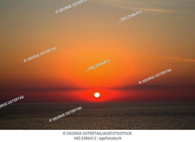 Sunrise over Lake Superior, Split Rock Lighthouse State Park, Minnesota