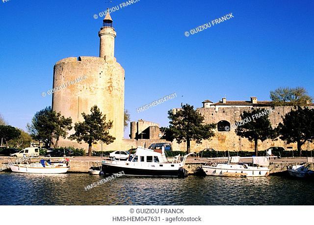 France, Gard, Aigues-Mortes, the Constance Tower