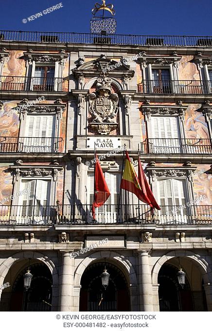 Plaza Mayor Square, Madrid, Spain