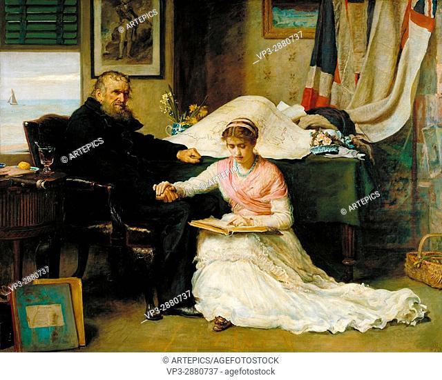 John Everett Millais - The North-West Passage