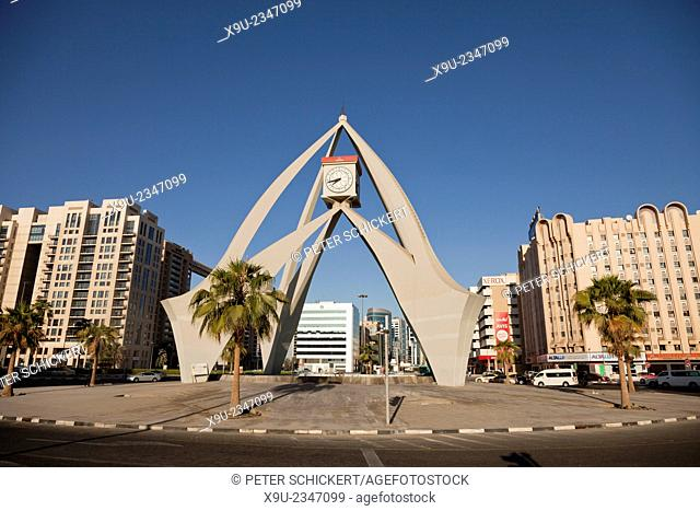 Deira Clocktower, Dubai, United Arab Emirates, Asia