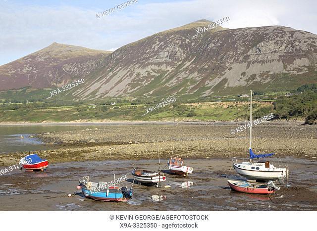 Fishing Boats in Trefor, Caernarfon, Wales; UK