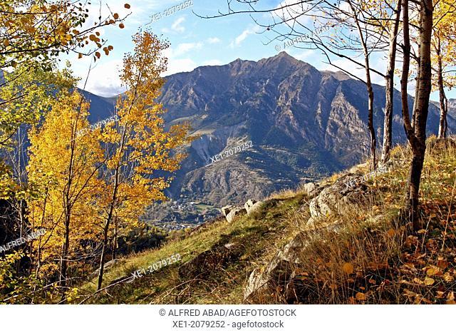 L'Aüt mountain, Vall de Boi, Pyrenees, Catalonia, Spain