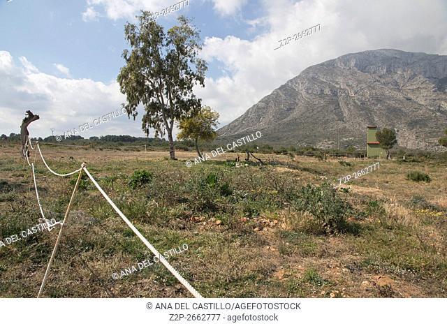 Mongo Montgo mountain Denia Javea Spain Mediterranean coast Alicante