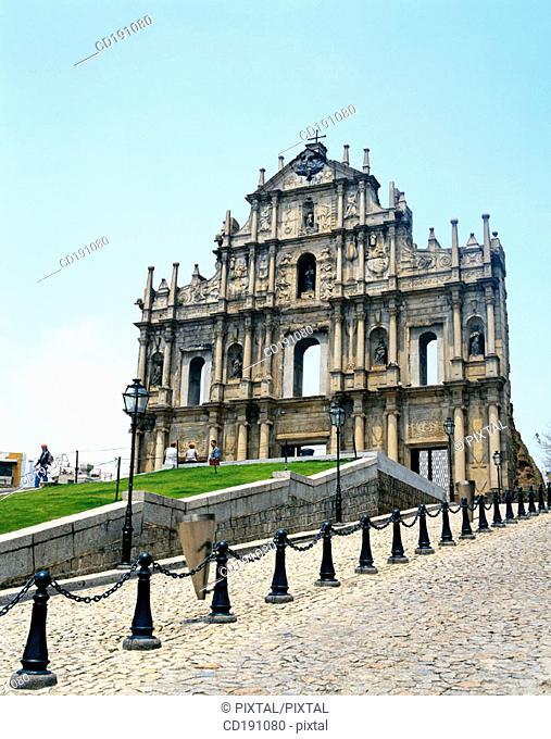 Ruins of St. Paul. Macau. China