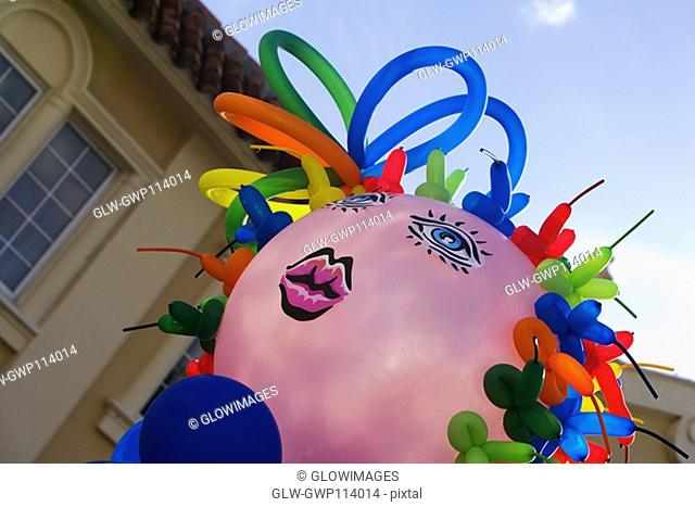 Close-up of a balloon