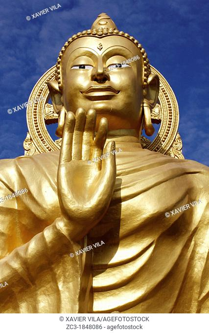 Buddhist temple, Buddha, Wat Buppharam, Georgetown, Penang hill, Malaysia