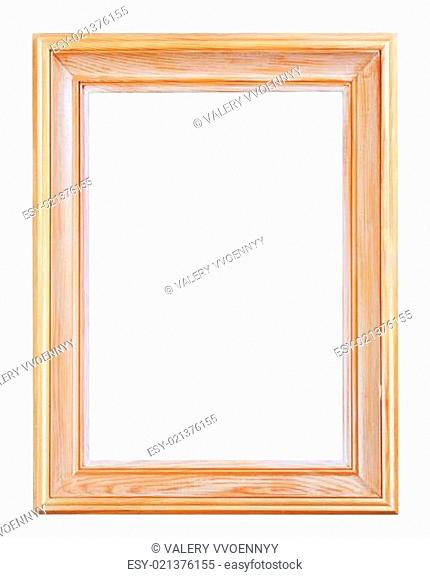 wide classic wooden picture frame