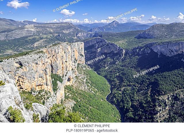 Gorges du Verdon / Verdon Gorge canyon, Alpes-de-Haute-Provence, Provence-Alpes-Côte d'Azur, France