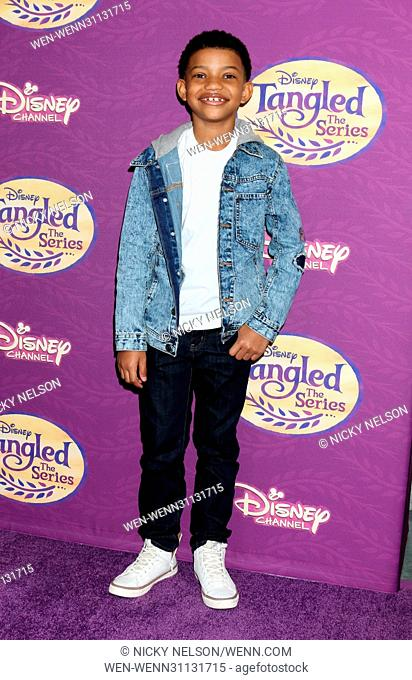 Screening of Disney's 'Tangled Before Ever After' held at the Paley Center for Media - Arrivals Featuring: Lonnie Chavis Where: Los Angeles, California