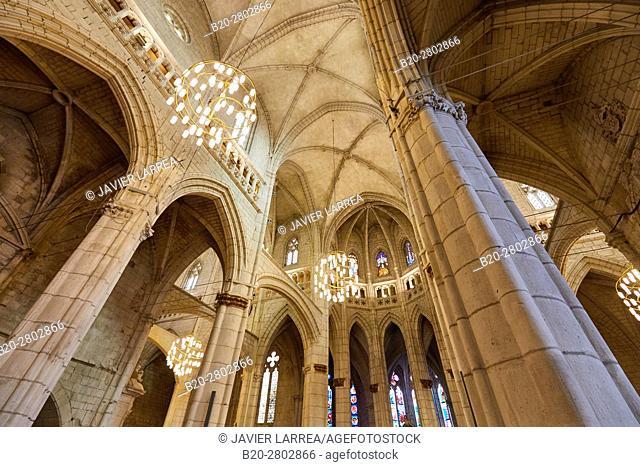 Cathedral of Santa Maria, Vitoria-Gasteiz, Araba, Basque Country, Spain, Europe