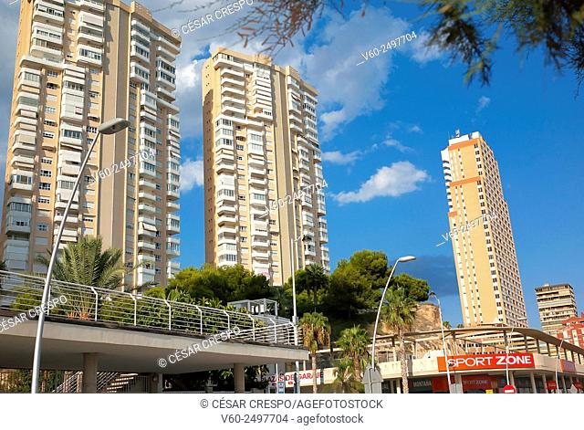 -Benidorm Buildings- Alicante Spain
