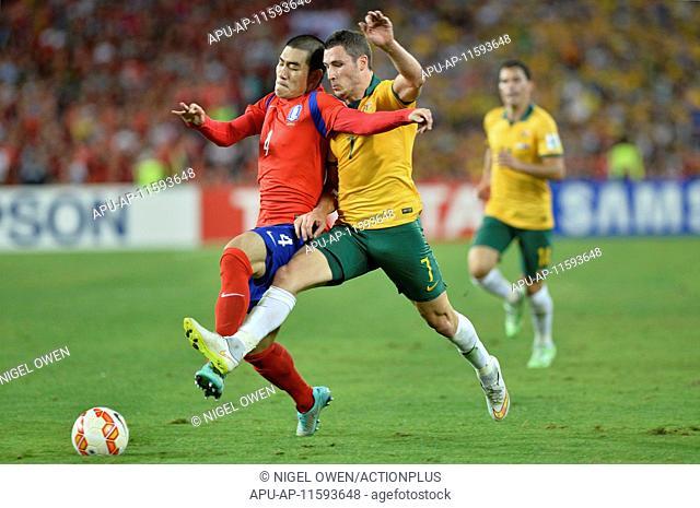 2015 AFC Asian Cup Final Australia v Korea Republic Jan 31st. 31.01.2015. Sydney, Australia. AFC Asian Cup Final. Australia versus Korea Republic