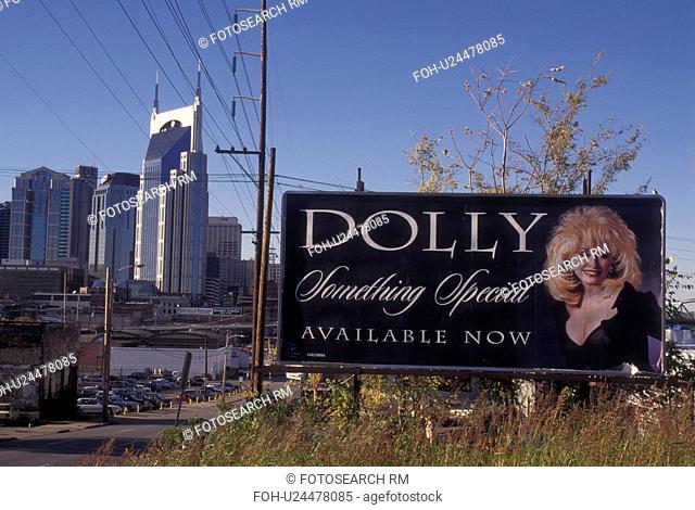 Nashville, TN, Tennessee, Dolly Parton Billboard