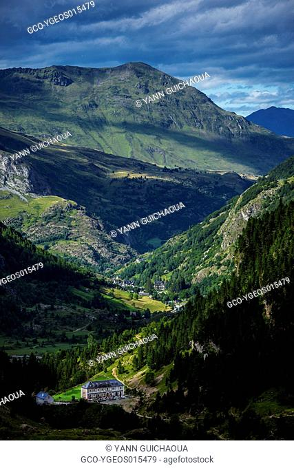 The Valley Of Gavarnie, Hautes Pyrenees, France