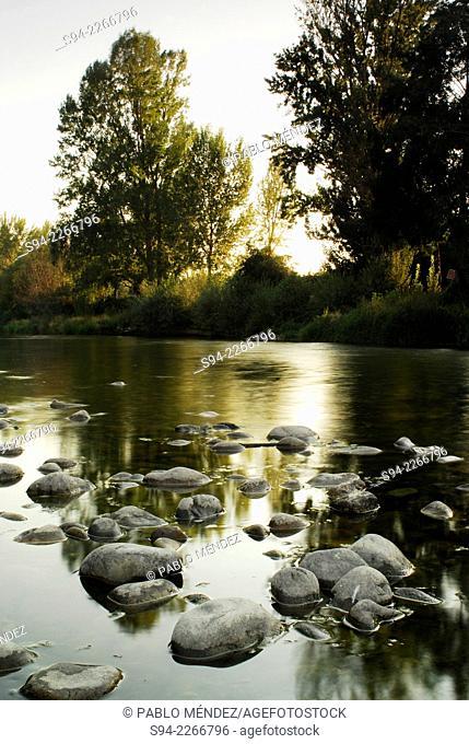 Sil river landscape in Orense province, Spain