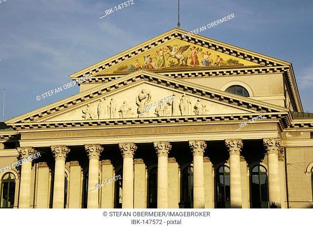 Bavarian national theatre state opera of Munich, Bavaria, Germany