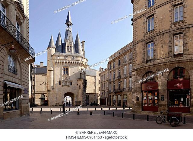 France, Gironde, Bordeaux, Porte Cailhau