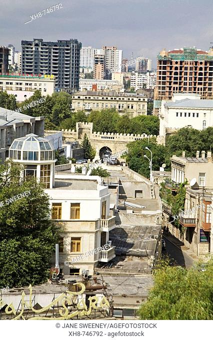 View of Baku, Azerbaijan