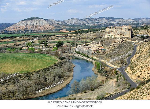 Tagus River. Zorita de los Canes, Guadalajara, Spain