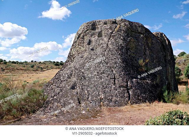 Peña Carnicera, Altar of prehistoric sacrifice, La Mata de Alcántara, Estremadura
