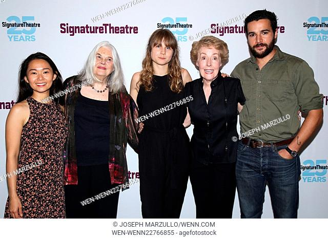 Opening night party for the play John at the Signature Theatre - Arrivals. Featuring: Hong Chau, Lois Smith, Annie Baker, Georgia Engel