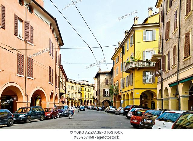 Old town, Modena, Italy