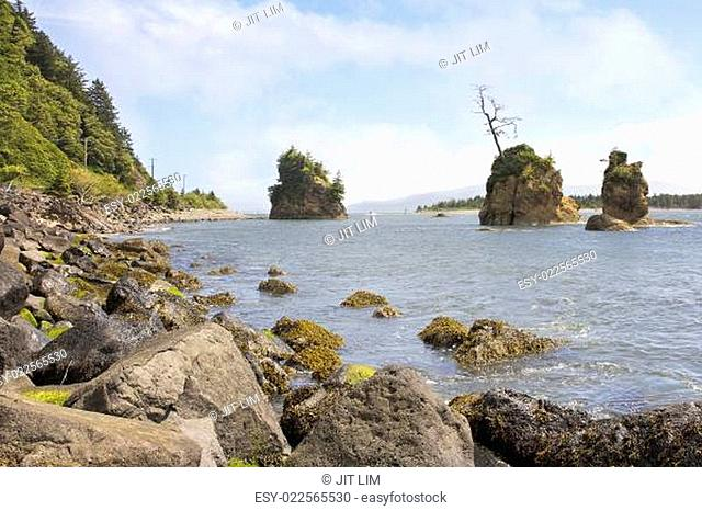 Pig and Sow Inlet in Garibaldi Oregon
