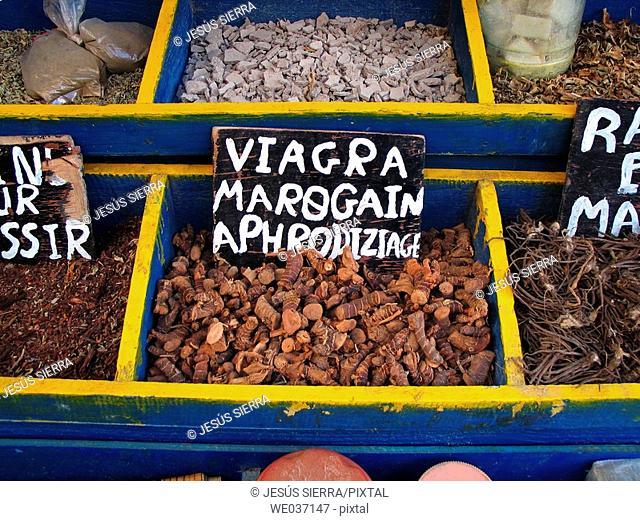 Spices. Essaouira. Morocco