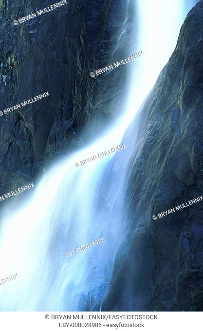 Waterfalls. Yosemite National Park. California. USA